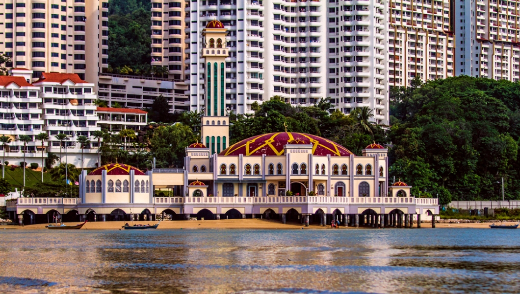 floating mosque penang malaysia