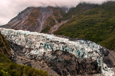 fox glacier south island new zealand