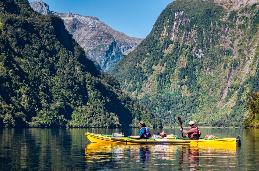 Kayak Doubtful Sound