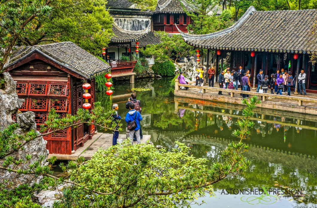 Tongli's Retreat Park is a living Chinese painting