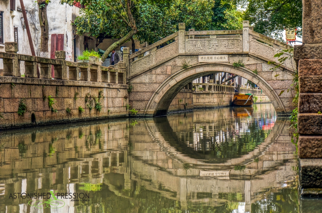 The narrow canals and stone bridges is a photographer's dream