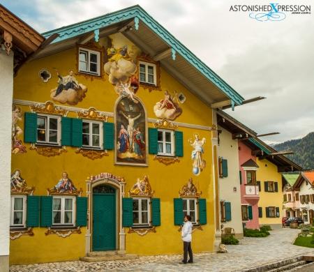 mittenwald fresco mural painting lüftlmalerei bavaria germany