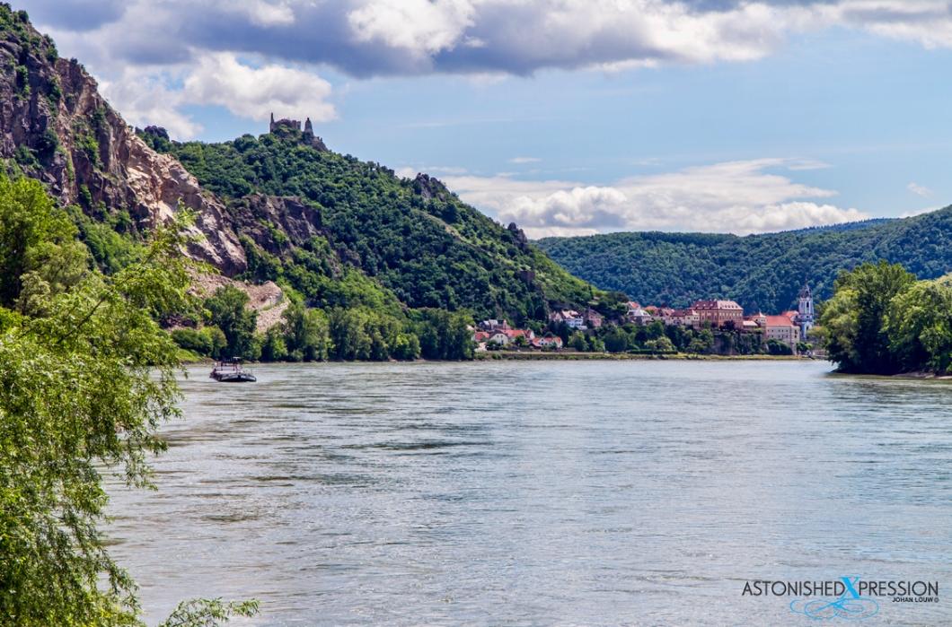 Durnstein Wachau Austria Danube River