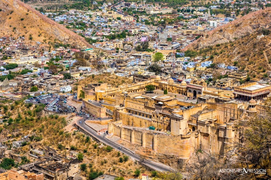 Jaipur's Amber Fort is a colossal structure of vast historical value