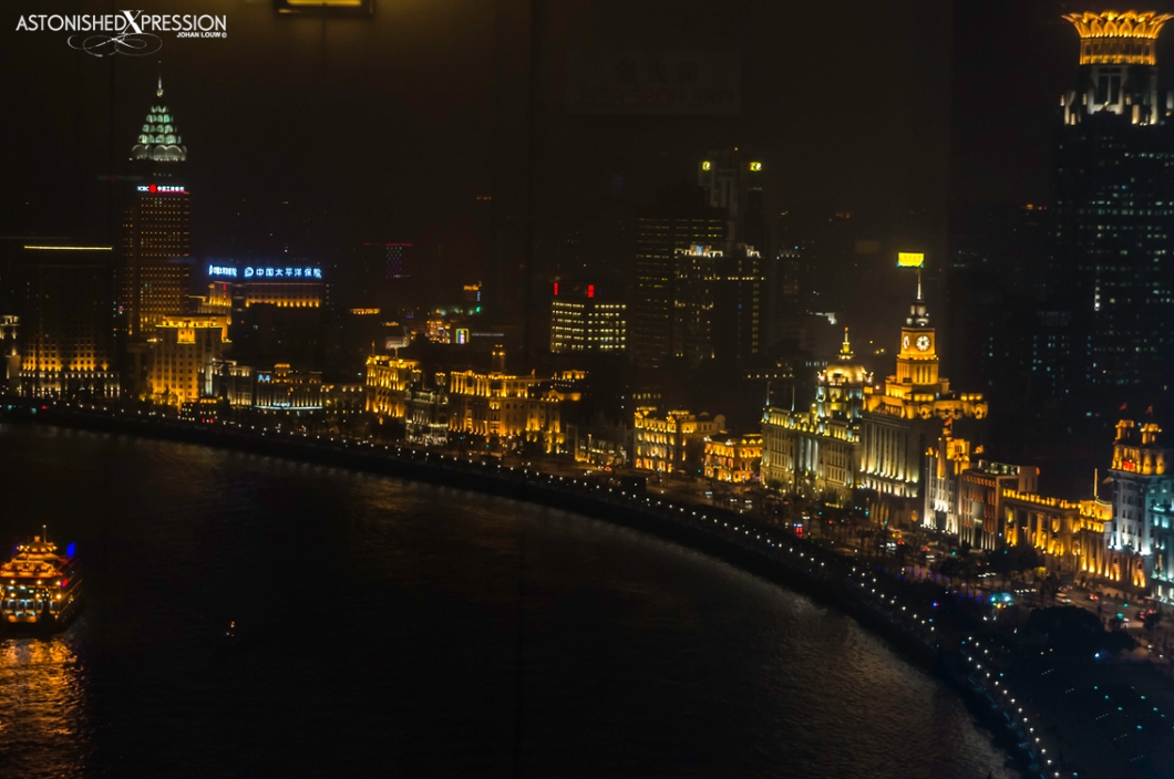 View over the Bund from the Hyatt