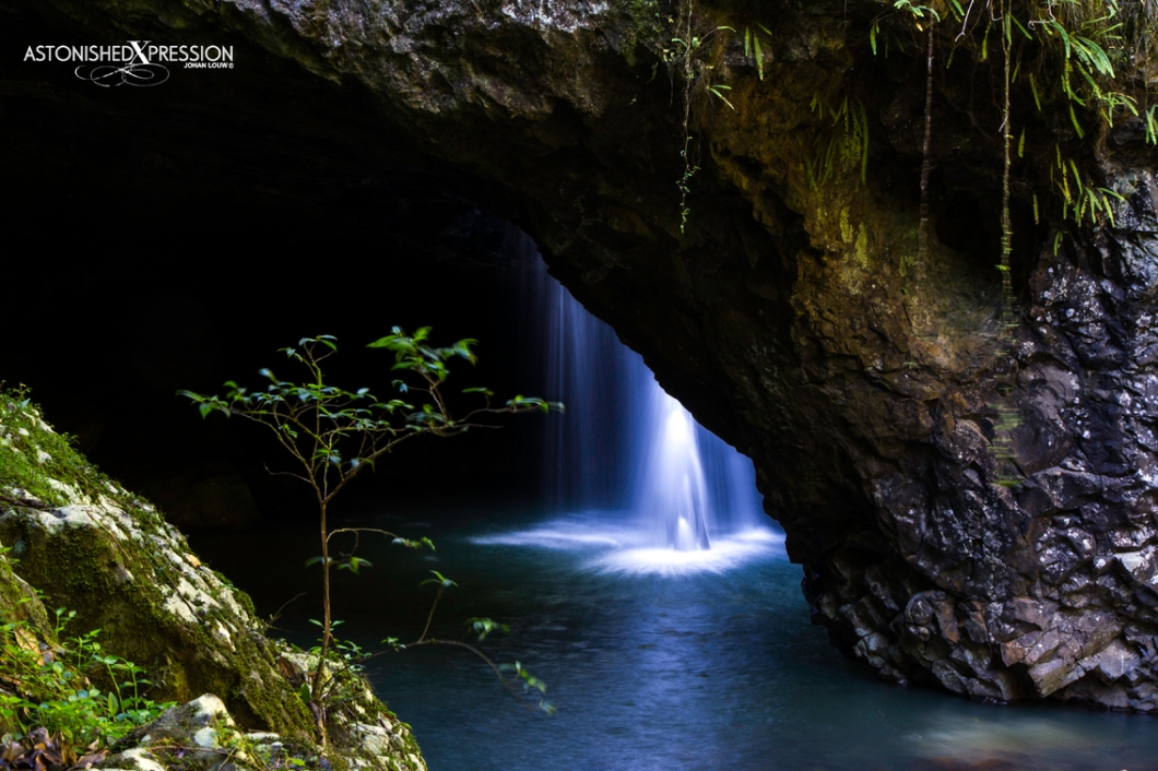 The Natural Bridge is easily accessible from a picnic site within driving distance from the Gold Coast or Brisbane