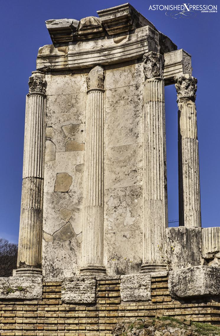 Italy Rome Temple of Vesta