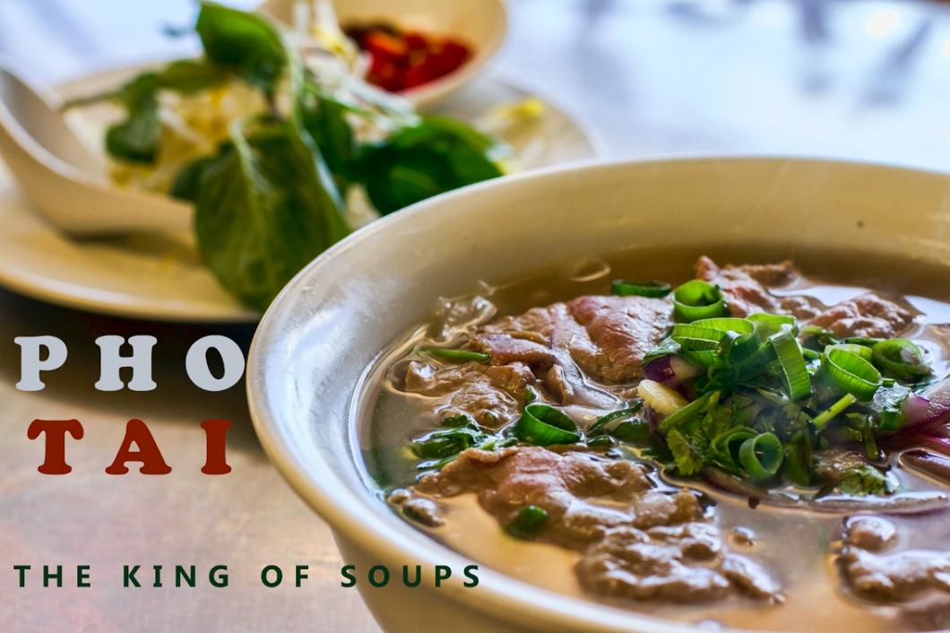 Pho Tai beef noodle soup recipe