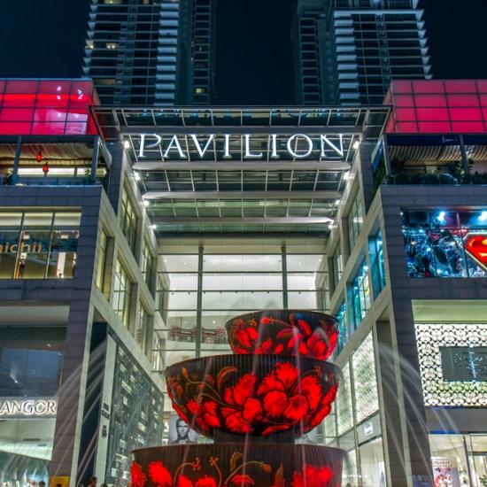 Pavilion Crystal Fountain