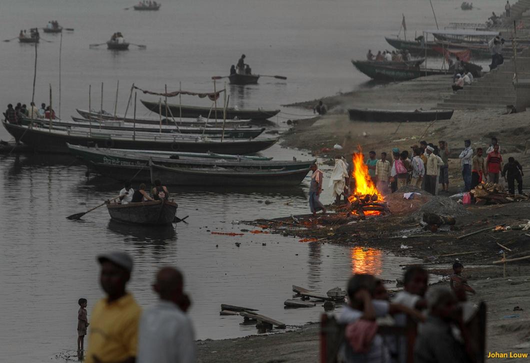 Harischandra ghat Varanasi
